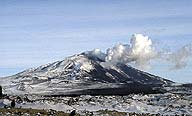 Hekla, Iceland, erupting, March 2000